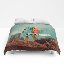 Happiness Here Comforters