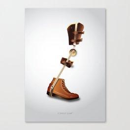 Forrest Gump - Alternative Movie Poster Canvas Print