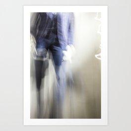 Ghost n Stuff 1 Art Print