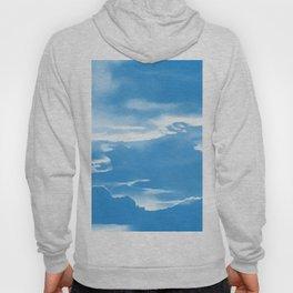 cloudy burning sky reacwb Hoody