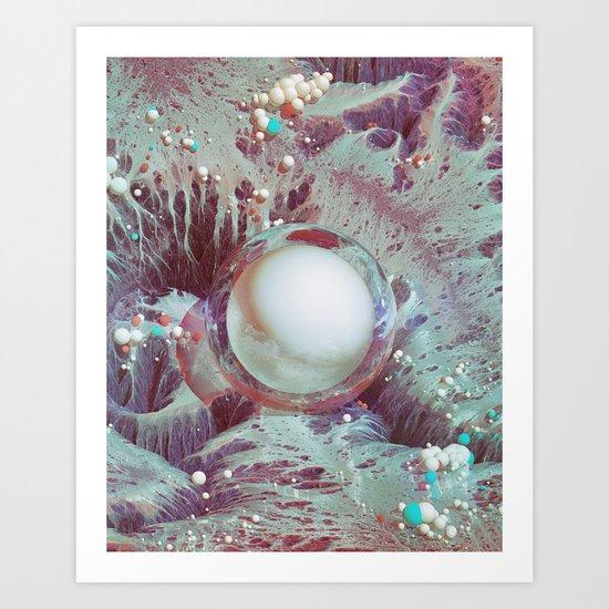 SALT EARTH (everyday 10.11.16) Art Print