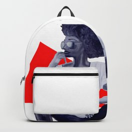 Red Kicks Backpack