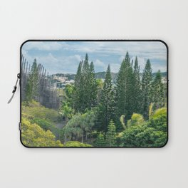 Tjibaou Cultural Centre immersed in tropical vegetation Laptop Sleeve
