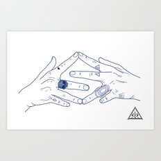 Make My Hands Famous - Part IV Art Print
