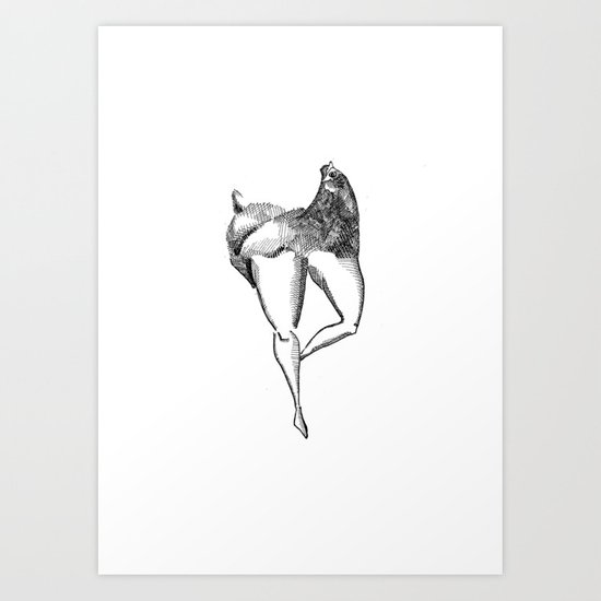 Metamorphosis Illustration Art Print