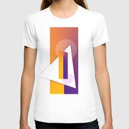 Sunny  Geometric pop art shapes retro T-shirt