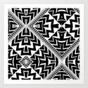 Black and White | Leyana Tribal 1 by webgrrl