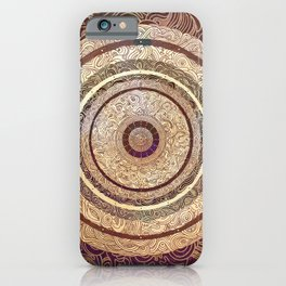 Middle of Calm iPhone Case