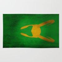 loki Area & Throw Rugs featuring Loki by Some_Designs