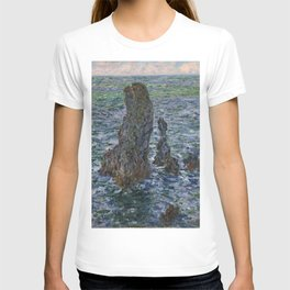 """Claude Monet """"Pyramides Port Coton"""" T-shirt"""
