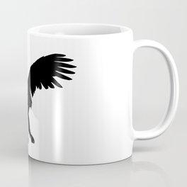 Eagle Black Silhouette Pet Animal Cool Style Coffee Mug