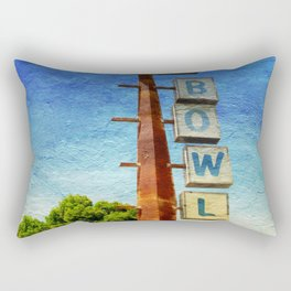 Century Bowl - Merced, CA Rectangular Pillow