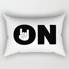 ROCK ON Rectangular Pillow