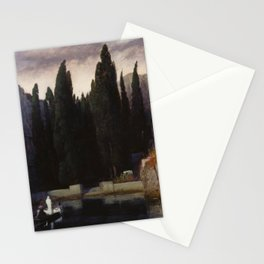 Arnold Böcklin - The Isle of the Dead (1883) Stationery Cards