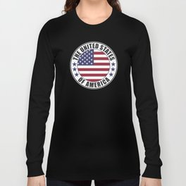 The United States of America - USA Long Sleeve T-shirt
