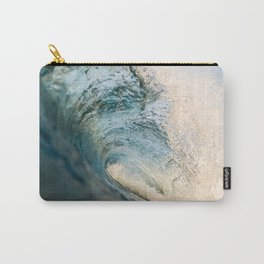 Sunrise light on beautiful wave Carry-All Pouch