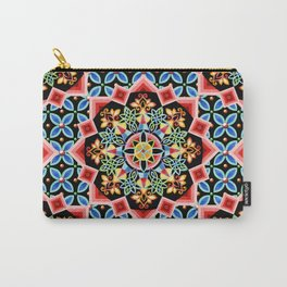 Folkloric Brocade Carry-All Pouch