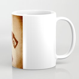 Doom Skull, Beware! Wild West Style Coffee Mug