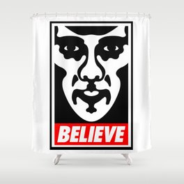 Believe - Sherlock Shower Curtain