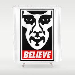 Believe - Sherlock Shower Curtain
