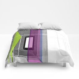 Architectural Stripes Comforters