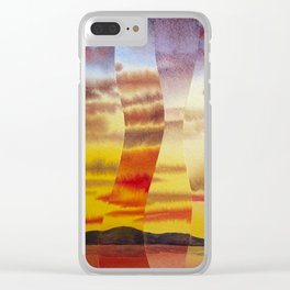 Why I love you Clear iPhone Case