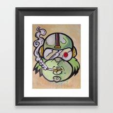 Commander Chimp Framed Art Print