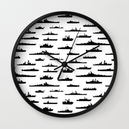 Battleship Wall Clock