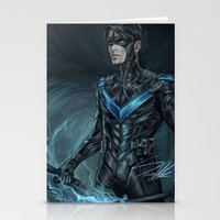 nightwing Stationery Cards featuring Nightwing by Veradia