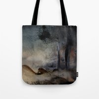 imagerybydianna Tote Bags featuring at the close by Imagery by dianna