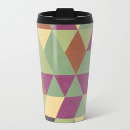 TRIANGLES geometric print Travel Mug