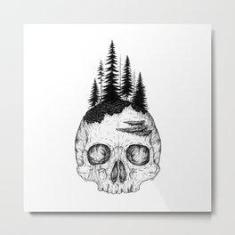 Flourishing Decay Metal Print