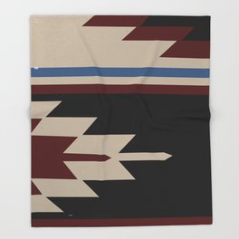 American Native Pattern No. 47 Throw Blanket