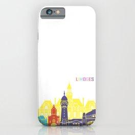 Limoges skyline pop iPhone Case