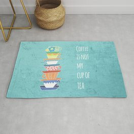 Not My Cup Rug