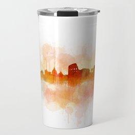 Rome city skyline HQ v03 Travel Mug