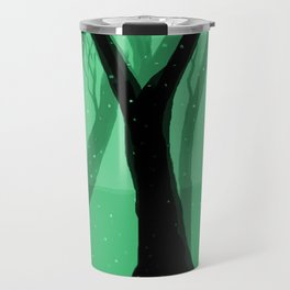 Magical Forest in Green Travel Mug