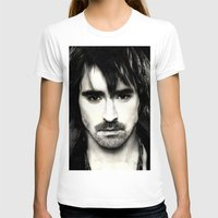 lee pace T-shirts featuring Pace Lee in watercolors by Fatima Alshaali