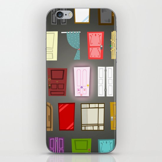 Doors iPhone & iPod Skin