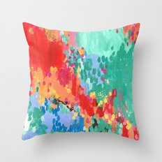 Just Like Candy Throw Pillow