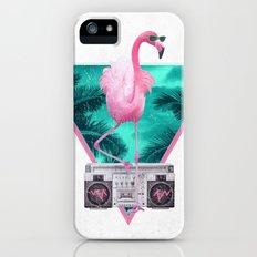 Miami Flamingo Slim Case iPhone (5, 5s)