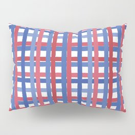 4th of July Gingham Pillow Sham