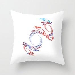 Praetoria Draconis Throw Pillow