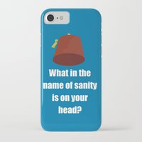 fez iPhone & iPod Cases featuring Fez by Grace Thanda