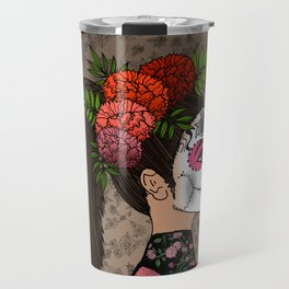 Rosa Maria on the Day of the Dead Travel Mug