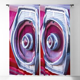 Tail Light. Blackout Curtain