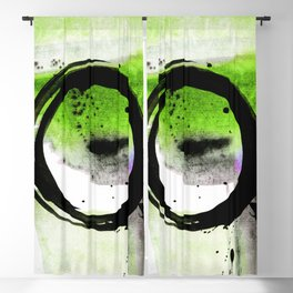 Enso Abstraction o. 113O by Kathy Morton Stanion Blackout Curtain