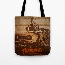 Hazzard Wood Tote Bag