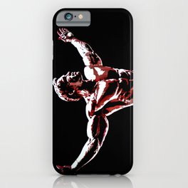 Arnold Schwarzenegger Portrait Pop  iPhone Case