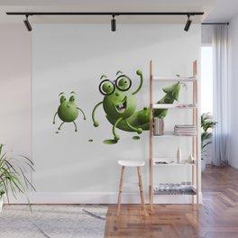 Mr Hap Pea Wall Mural
